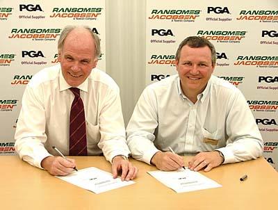 Подписание соглашения с PGA